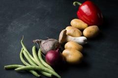 Cottura della verdura fresca Fotografia Stock Libera da Diritti