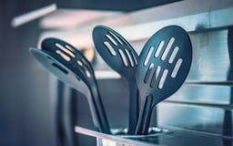 Cottura dello strumento dell'utensile della cucina immagine stock