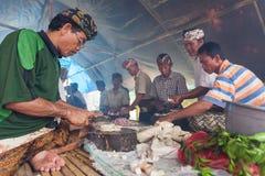 Cottura di Balinese immagine stock libera da diritti
