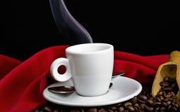 Cottura a vapore del caffè Fotografia Stock