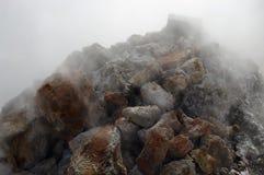 Cottura a vapore delle pietre Immagini Stock Libere da Diritti