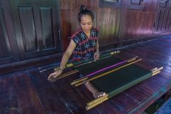 Cotu少数族裔在越南 图库摄影