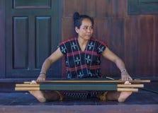 Cotu少数族裔在越南 免版税库存照片