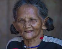 Cotu少数族裔在越南 免版税库存图片