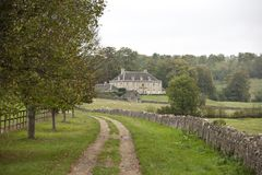 Cotwold Country Mansion Royalty Free Stock Image