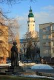 Coty of Drohobych, Ukraine royalty free stock images