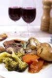 Cou cuit d'agneau Image stock