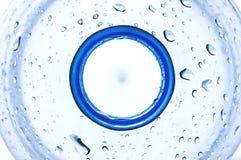 Cou de bouteille d'eau Photo stock