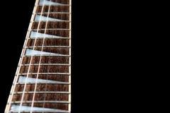 Cou de guitare électrique Images libres de droits