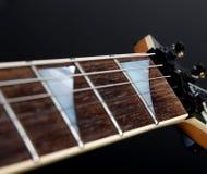 Cou de guitare électrique Images stock