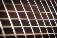 Cou de guitare Photo libre de droits