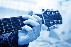 Cou de guitare Image libre de droits