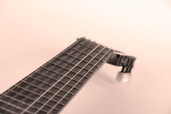 Cou de guitare Images stock