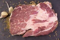 Cou de porc photo libre de droits