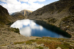 Couart lake - Andorra Royalty Free Stock Photo