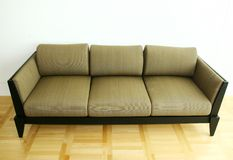 Couch. Earthen couch royalty free stock photos