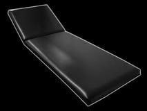 Couch des Doktors Stockfoto