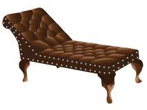 Couch des Psychologen Lizenzfreie Stockbilder