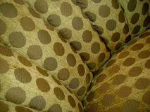Couch Fabric. Closeup of couch textile Royalty Free Stock Photography