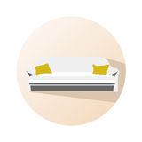 Couch icon Royalty Free Stock Image