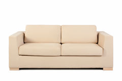Couch isolated on white. Background Stock Images