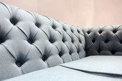 Couch in a lounge. Luxurious couch in a ballroom lounge Stock Photos