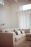 Couch in a modern living room Royalty Free Stock Images