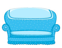 Couch vector illustration. EPS 8 Royalty Free Stock Images