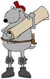 Couche canine de tapis illustration de vecteur