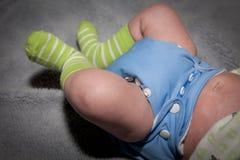 Couche-culotte de tissu Photographie stock