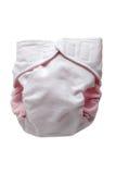 Couche-culotte de tissu d'Eco Photo libre de droits