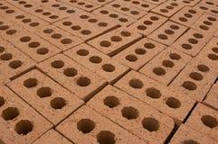 Couche de briques Photographie stock libre de droits