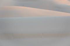 Couche de la dune de sable blanche, Vietnam Image stock