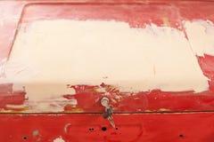 Couche de mastic sur le tronc une vieille machine Photos libres de droits