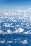 Couche de nuage Photographie stock