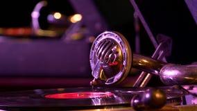 Couche de pvinyl de disque de phonographe des temps de l'URSS clips vidéos