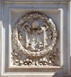 Couche des bras de Vatican Photographie stock libre de droits