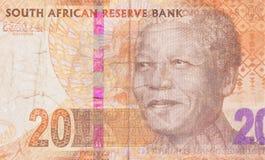 Couche-point vingt sud-africain Images stock