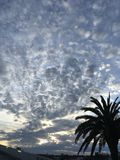 Coucher du soleil à Auckland Nouvelle-Zélande photographie stock libre de droits