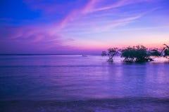 Coucher du soleil à l'île de Neills photographie stock libre de droits