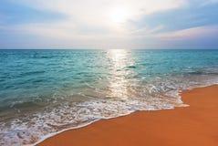 Coucher du soleil à Phuket Images libres de droits