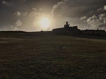 Coucher du soleil à San Juan Photos libres de droits