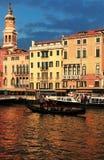 Coucher du soleil à Venise Photo stock