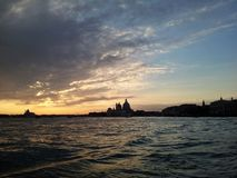 Coucher du soleil à Venise Photographie stock libre de droits