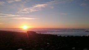 Coucher du soleil étonnant Photographie stock libre de droits