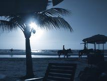Coucher du soleil 05 Image stock