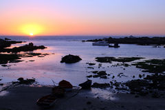 Coucher du soleil 10 de compartiment de Jacobs Photographie stock libre de droits