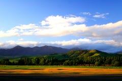 coucher du soleil 13 rural Image stock