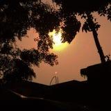 Coucher du soleil images libres de droits