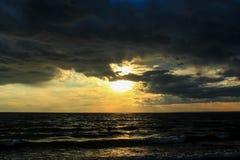 Coucher du soleil Image stock